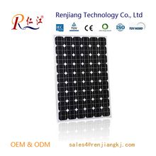 A-grade Cell High Efficiency Mono 100w Pv Solar Panel price