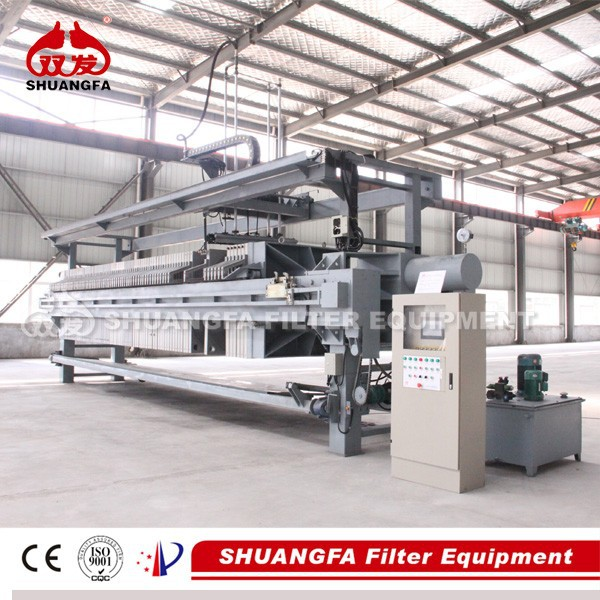 Automatic Cloth Washing Membrane Filter Press, Mud Filter Press with Higher Filtration Pressure
