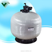 Pool system traditional pool filtration 400mm-1200mm top /side mount fiberglass swimming pool water filter with six multi valve