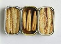 low price 125g canned sardine in vegetable oil from China