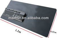 Hot sale high quality big size rubber mat for floor,desk ,office use,super size mouse pad