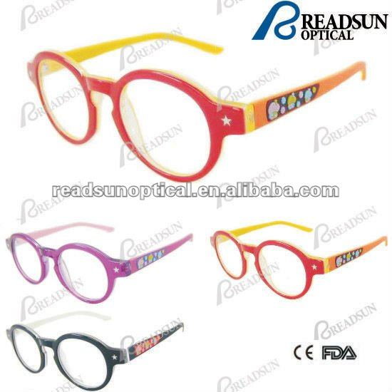 2016 custom eyeglasses frame With Rubber Temple and rubber decoration(OAK512090)