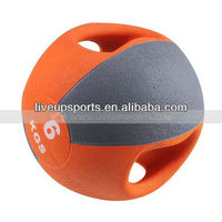 Rubber Medicine ball, it is solide ball,,, KG and pound size.. it it used no smell and high qualit(SINGLE COLOR)