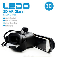 Porn 3D VR box phone virtual reality glasses sex movie 3D VR headset glasses, wholesale price VR 3D glasses
