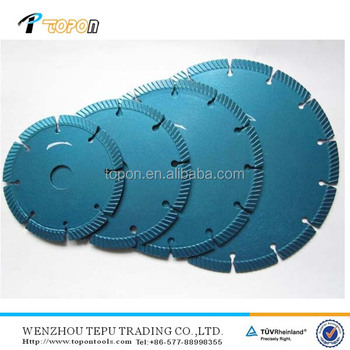 Professional Produce Hot Pressed Diamond Band Saw Cutting Blade For Concrete Brick And Marble