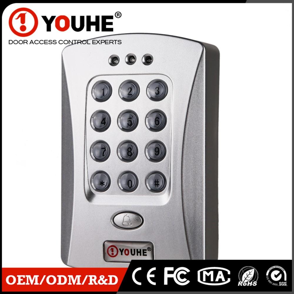 New Password Digital Keypad Hotel Door Lock System For Sliding Dorr