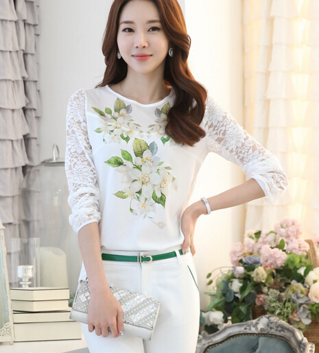 z88676A woman clothing womens wear apparel 2016 design for formal blouses pictures