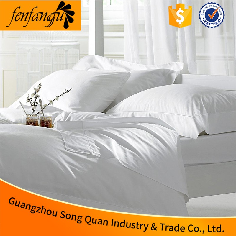 Bright color 5 star bedding comfortable sets luxury 100% cotton hotel bedding set/bed sheet set