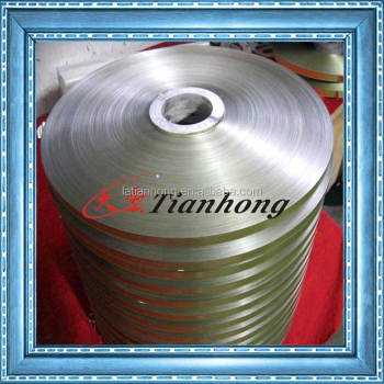 Aluminum foil PET coated for cable shielding