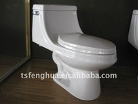 FH8813 Sanitaryware Ceramic One Piece Toilet
