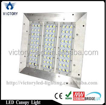 Aluminum 100lm/w ip65 gas station wholesale canopy <strong>led</strong>