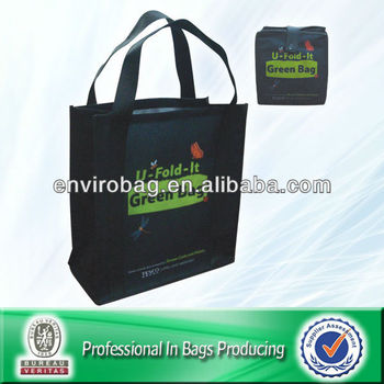 Tote Green non woven bag Easy Folding