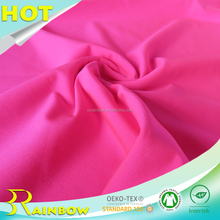 Charming Neon Color Ponte Di Roma Knitting Polyester Spandex Italian Fabric for Garments