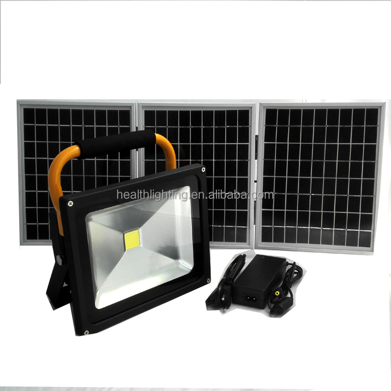 Dimmable solar LED camping light portable led solar flood lamp CE ROHS approved