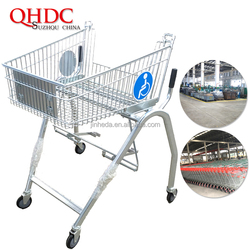 handicapped trolley shopping cart for disabled people