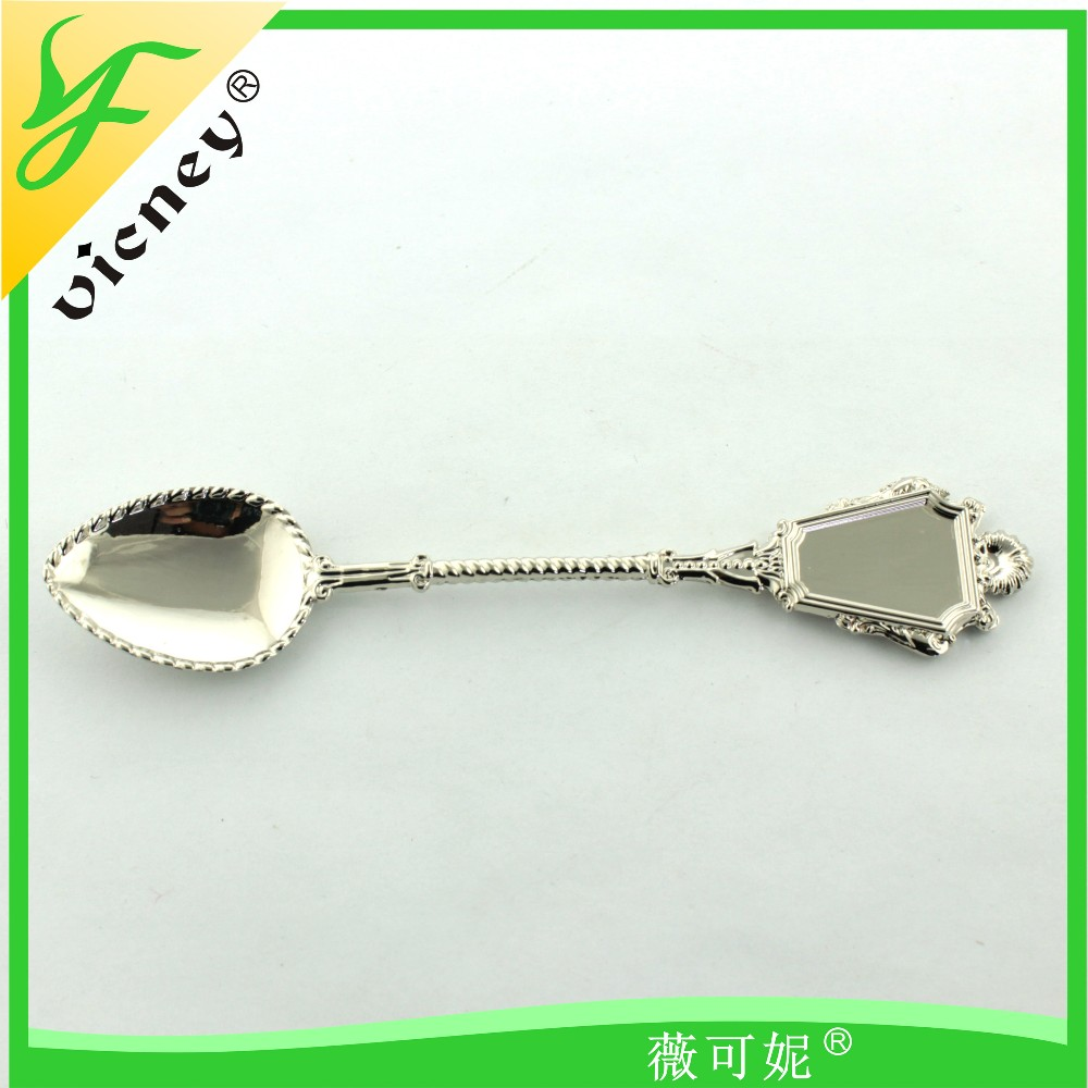 custom souvenir metal small spoon for home decoration