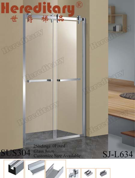 2015 shower room design flexible shower enclosure with low price in foshan