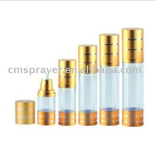 15ml,30ml,50ml,80ml,100ml Aluminium cosmetics airless pump bottle for cosmetics and skin care