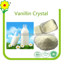Vanillin Crystal:for any food products
