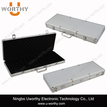OEM Custom Profession Aluminum Hunting Weapon Case, Cheap Aluminum Rifle Gun Case with Customized Foam Insert