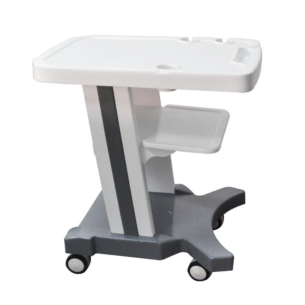 High sensitivity Trolley style Digital Portable Ultrasound Scanner with 2 probe connector