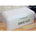 Bread Box, Steel Bread Storage Container, Swing Lid Bread Bin