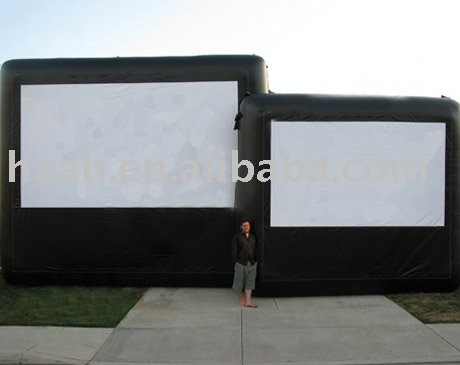 Durable Inflatable Air Screen