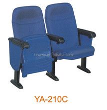 Commercial furniture auditorium theater cinema chair used church chairs