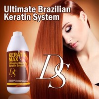 2015 highest demand products chocolate straightening collagen hair treatment