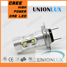 2014 New 50W auto light car lamp cree+epistar Fog light H7 LED with high power UX-7G-H7W-CREP-50W