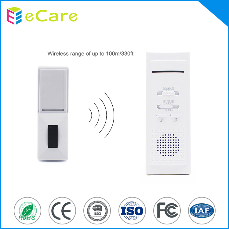16 melody quantity easy install remote wireless doorbell