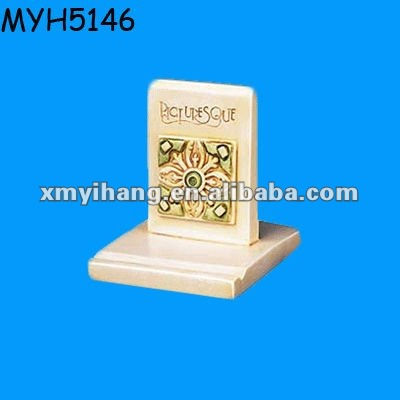 Ceramic floor tile stand holder
