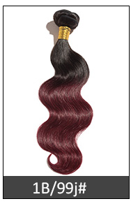 Good Feedback 7A Top Quality Wholesale Buy Brazilian Ombre Weave Hair