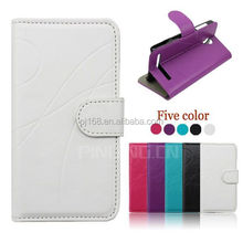 Hot selling mobile phone case design flip leather cover for Xiaomi Mi3