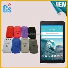 Pudding Plain Matte TPU Soft Gel Back Case For LG G Pad 8.3 X8.3 Cover