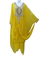 HIJAB MUSLIM BRIDAL ROBE DESIGN SUIT JILBAB ELEGANT MODERN ARABIAN ISLAMIC WEDDING GOWN FANCY JILBAB THOBE KAFTAN DRESS K6100