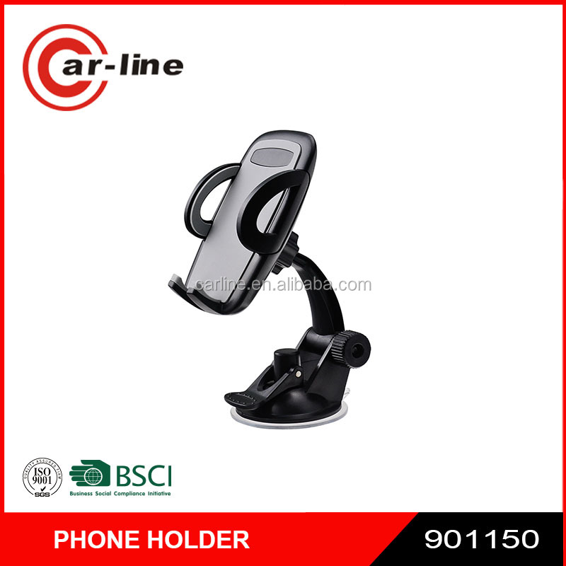 2016 New Design 360 Rotation Universal Car Cell Phone Holder Car Windshield & Dash Mobile Mount for Blackberry