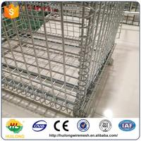 Anping huilong manufacture strong steel storage cages