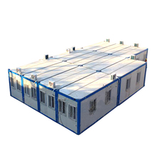 prefabricated steel frame house construction project prefab container