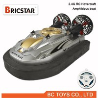 Amphibious Electric boat 2.4G mini rc hovercraft ship
