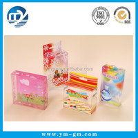 Jewelry plastic gift box transparent box