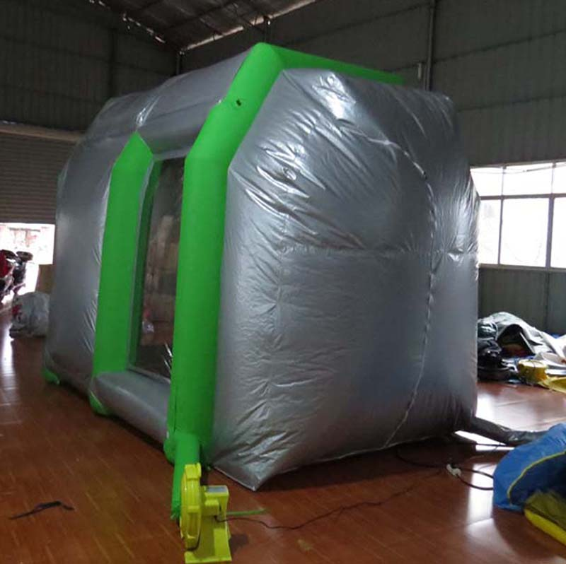 China supplier outdoor portable garage car inflatable spray paint booth