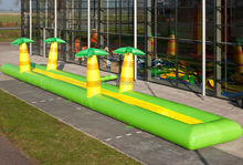 2014 cheap jungle inflatable water slide with pool