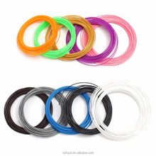 100 Meters 20 colors ABS Plastic Wire 1.75mm 3D Printer Materials Threads 3D Pen Filament