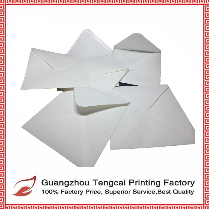 High quality custom white paper gift envelopes in 2016