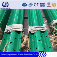 highway guardrail roadway crash barrier for safety