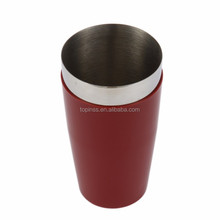 Hot sale Wholesale Stainless steel Cocktail boston shaker in PVC Coat