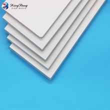 2440*1220 color corrugated plastic customized roof pvc foam board tiles