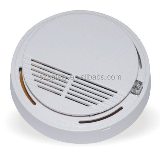 12V Portable Addressable Home Security Smoke Detector with Relay Output