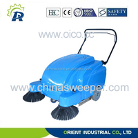 P100A road sweeping broom mechanical road sweeper